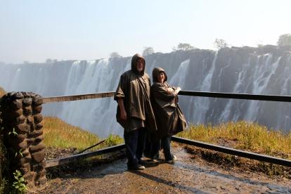 parents raincoats